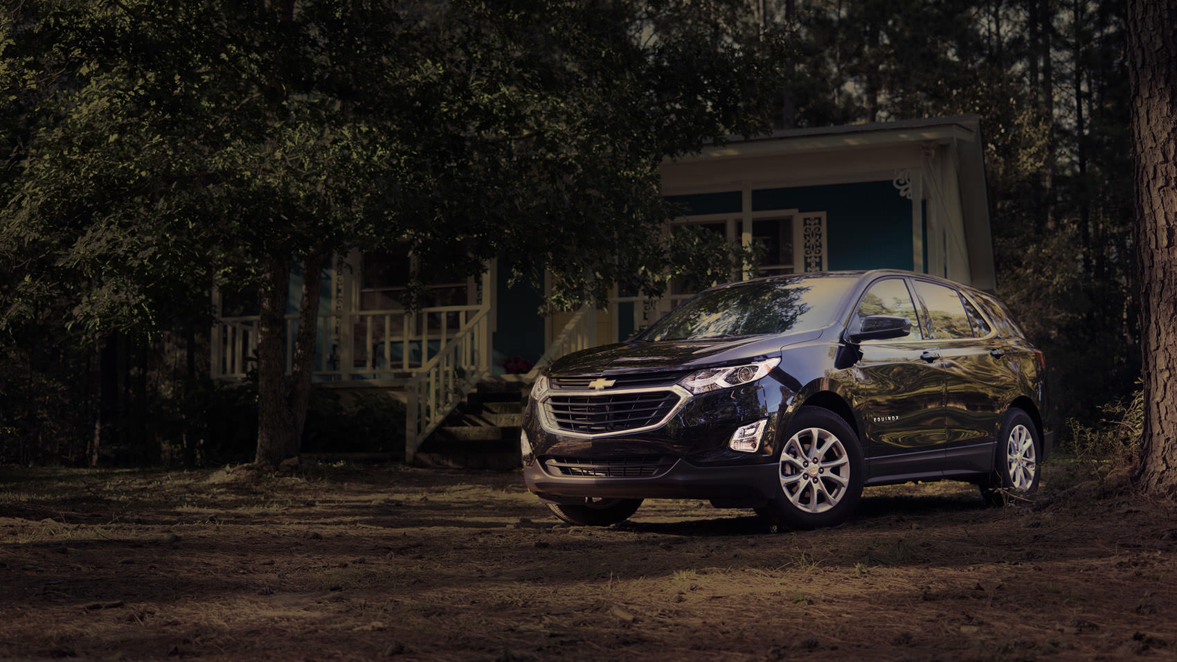 Chevrolet Equinox in the Woods deep by Sascha Hauk