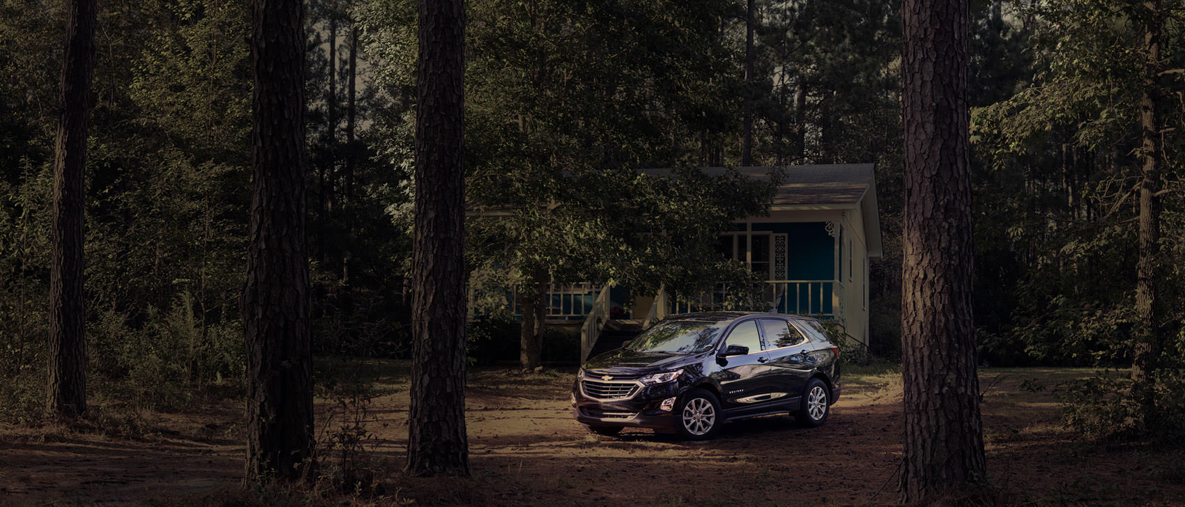 Chevrolet Equinox in the Woods high by Sascha Hauk